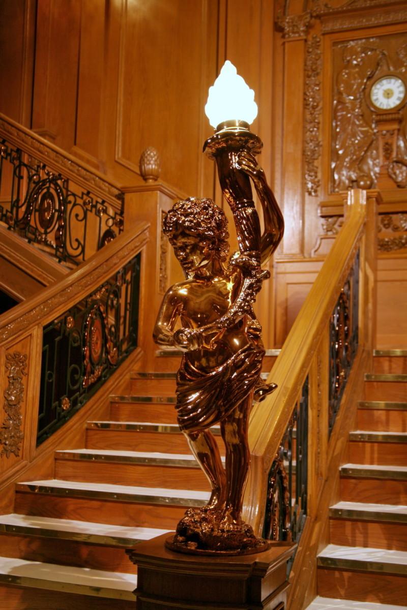 Titanic's cherub