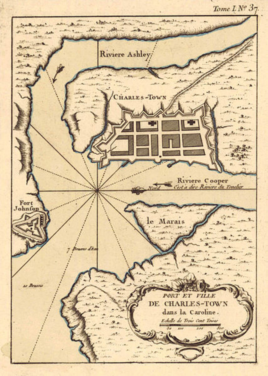 Colonial Charleston, from a French perspective.