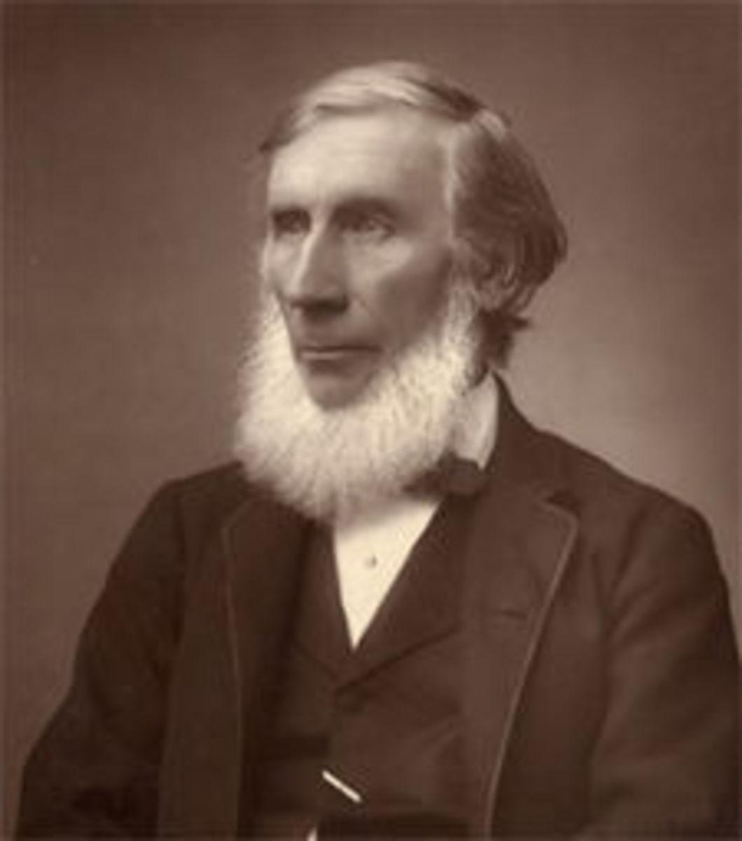John Tyndall, ca. 1885.
