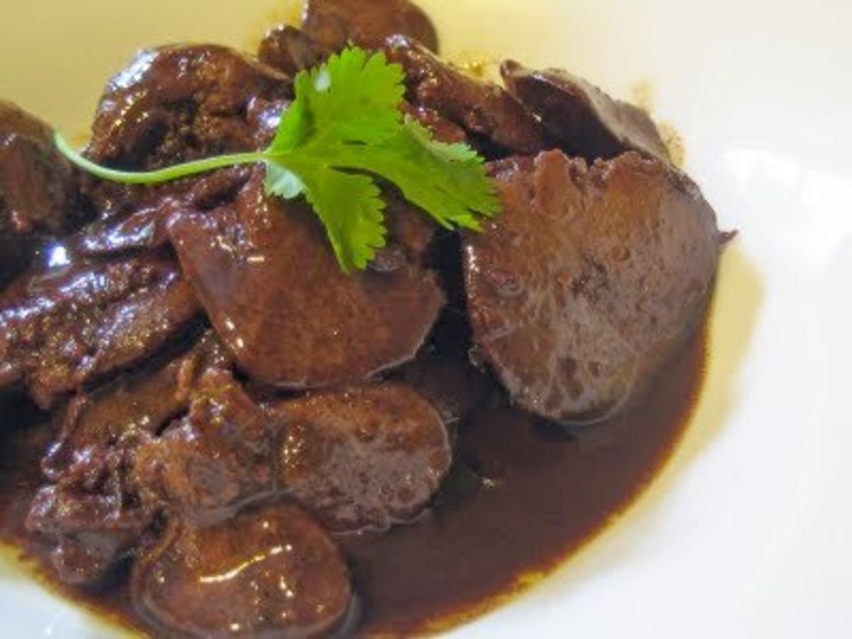 Avoid organ meats while taking Accutane