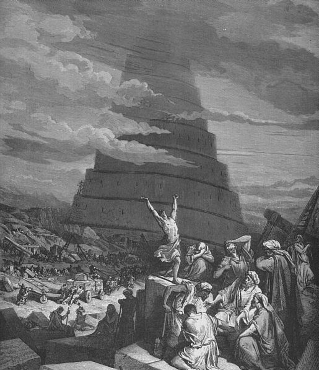 Confusion of Tongues - Gustave Doré (1865)