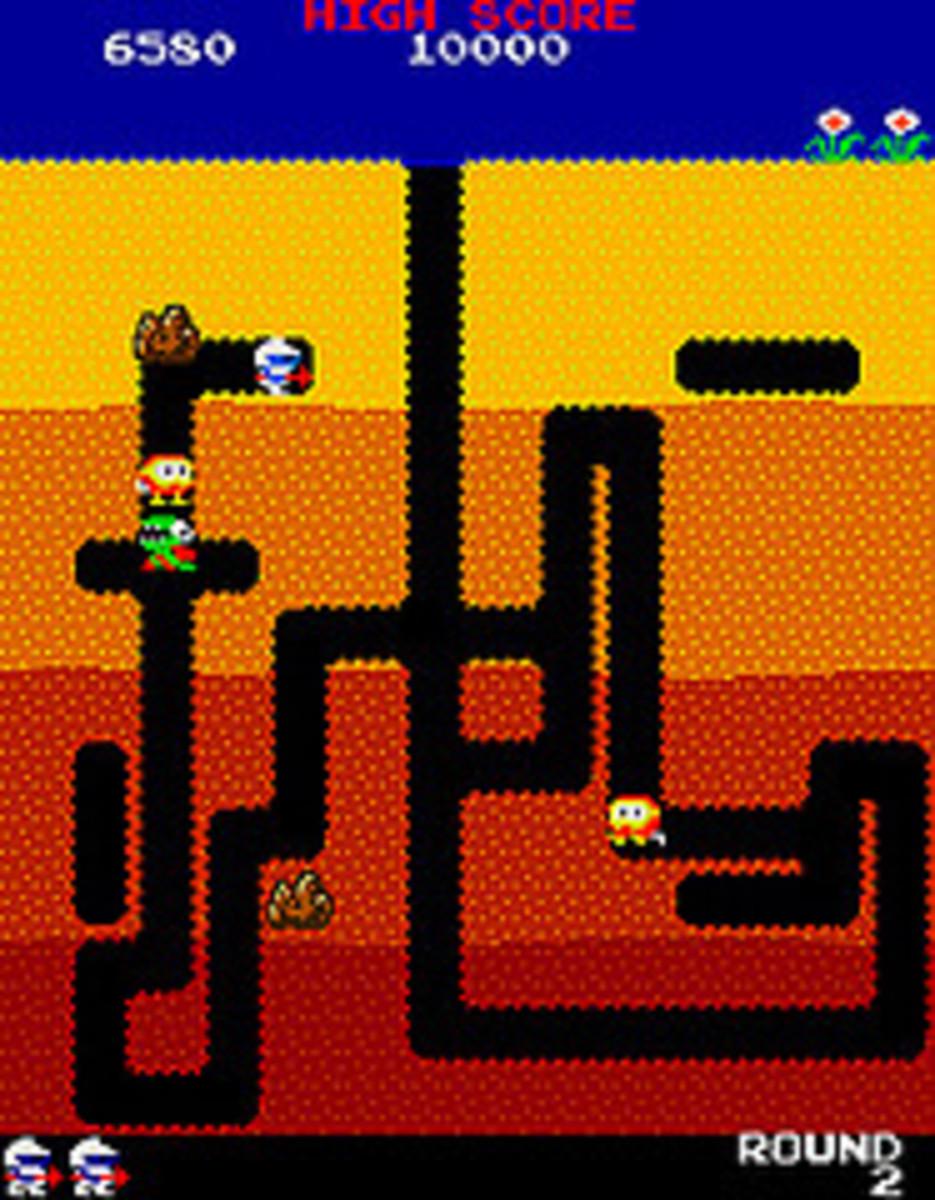 Dig Dug by Namco