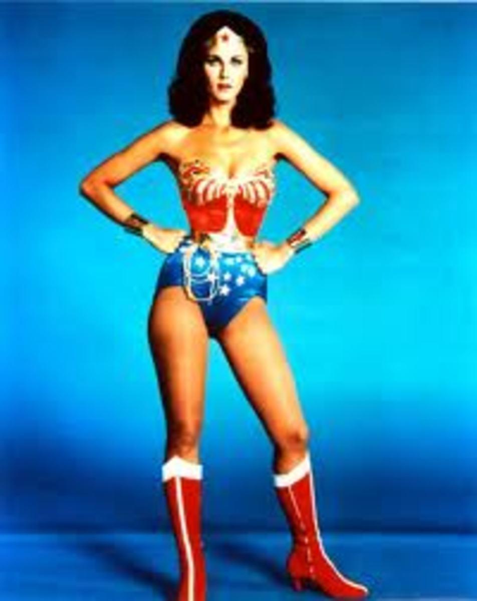 Lynda Carter 'Wonder Woman'  - Famous Tall Women