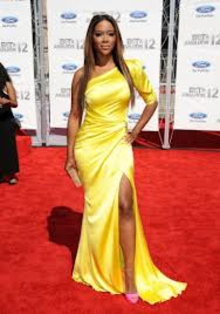 Kenya Moore - Tall Celebrity Women