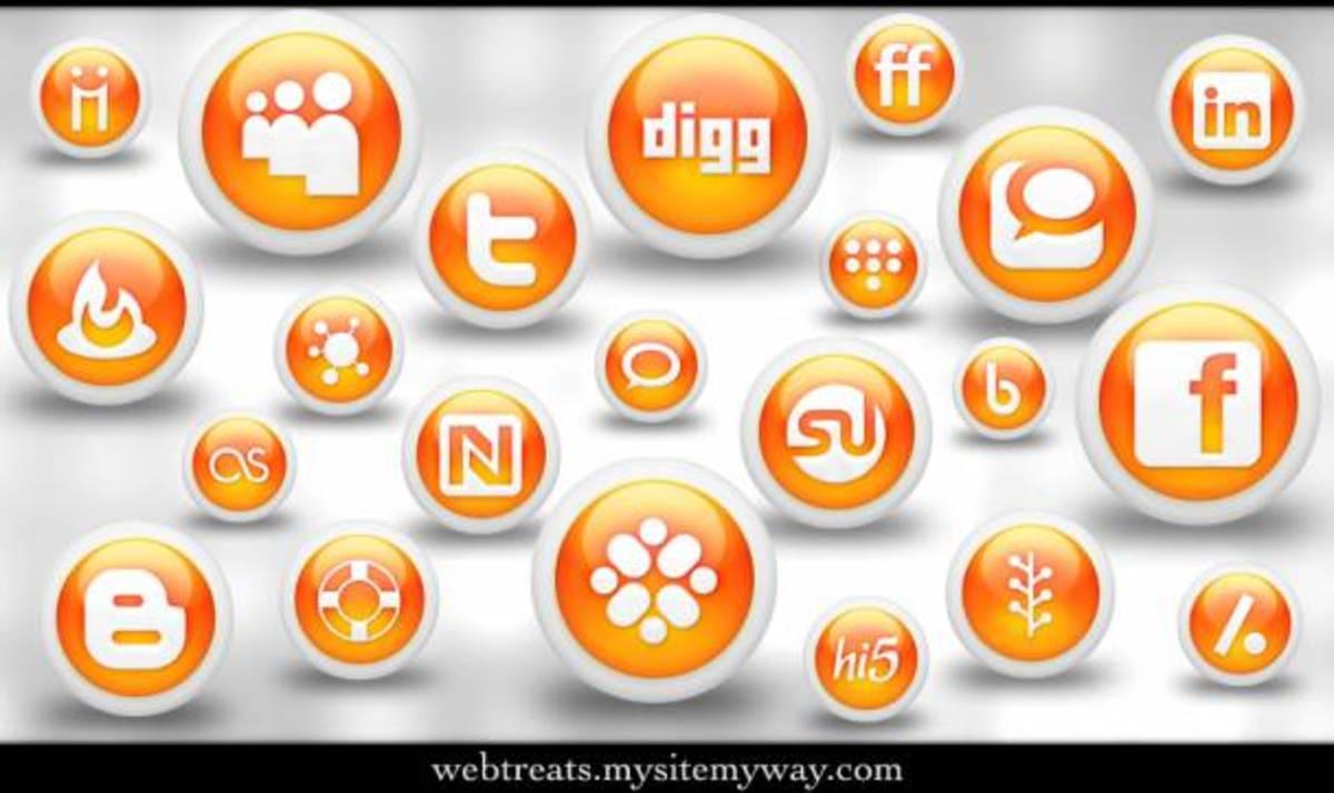 So many social media networks.