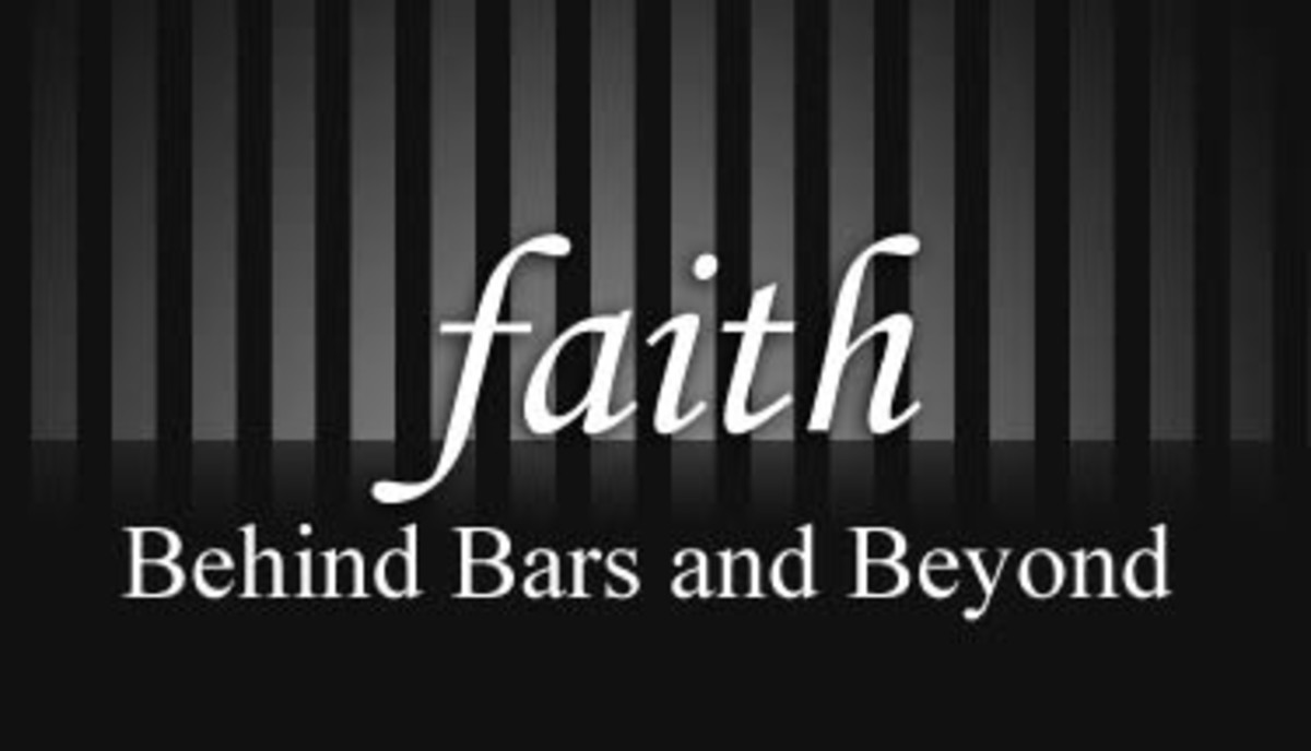 Faith behind bars.