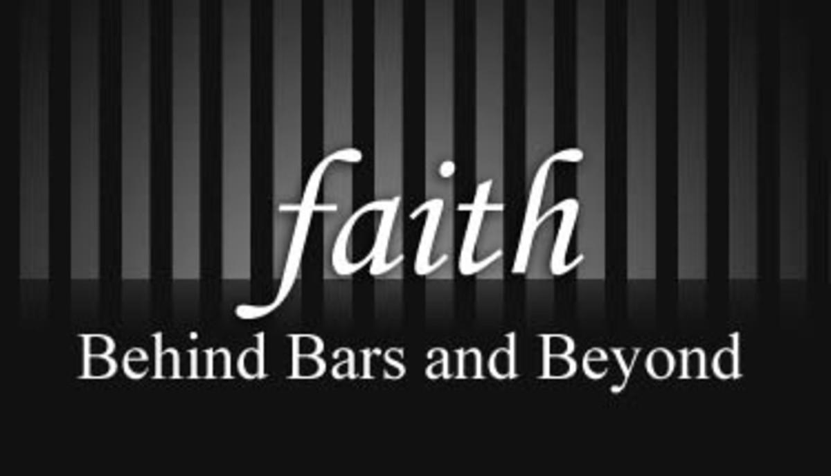 Faith behind bars.