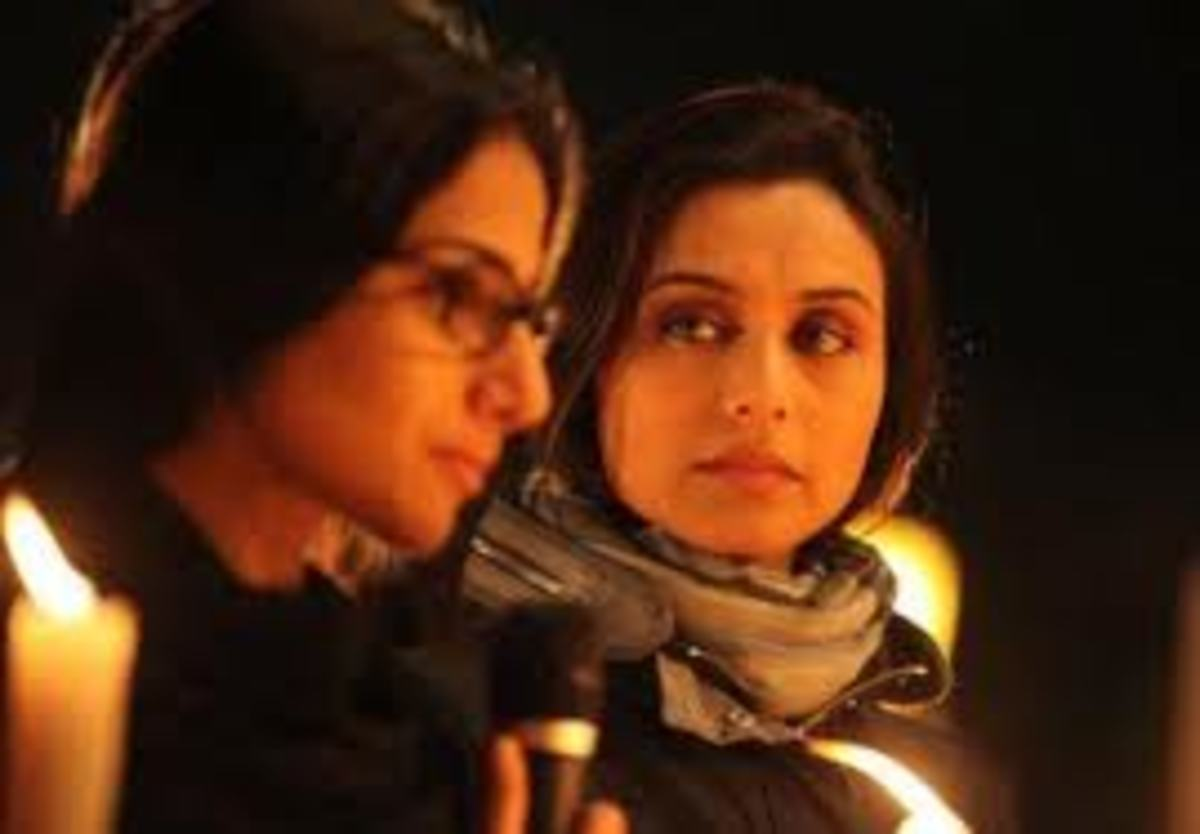 Vidya Balan and Rani Mukerji in No One Killed Jessica.