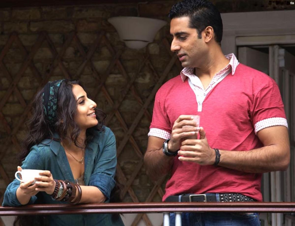 Vidya Balan and Abhishek Bachchan in Paa.