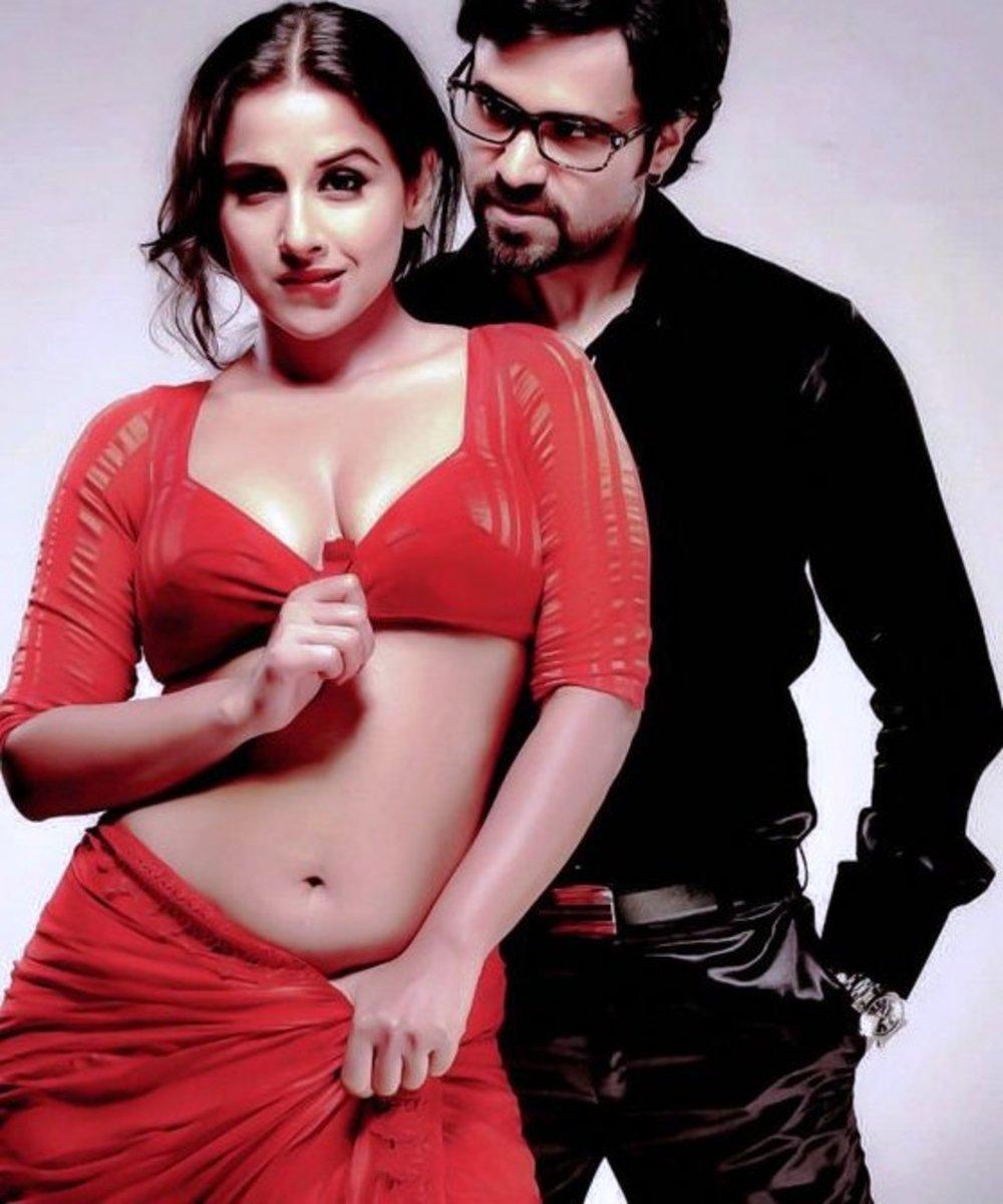 Vidya Balan and Emraan Hashmi in Dirty Picture.