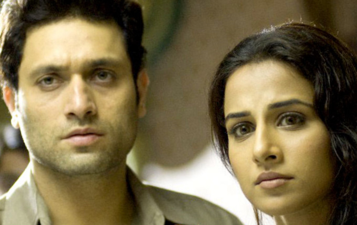 Shiney Ahuja and Vidya Balan in Bhool Bhulaiyaa.