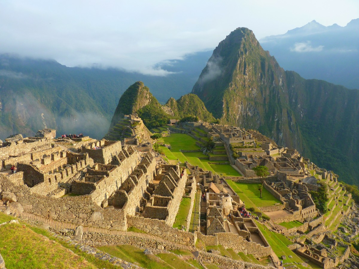 Machu Picchu in South America is considered an ancient sacred site.
