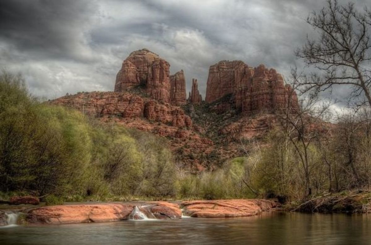 One of several sites in Sedona considered by new-agers to be a vortex of energy.