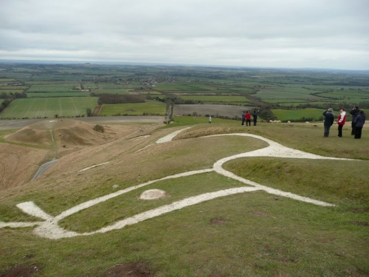 White Horse, Uffington Taken on a visit by the Charney Manor primary geographers.