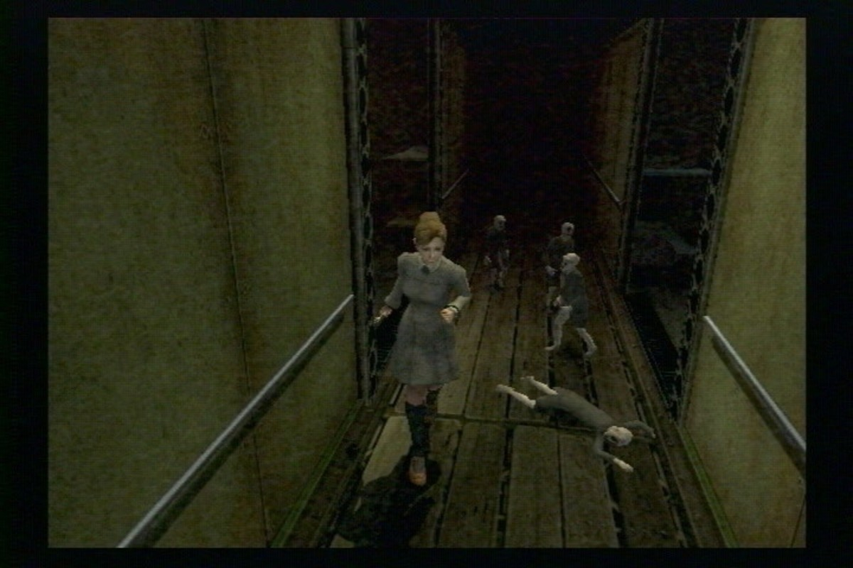 Combat in Rule of Rose is similar, in some ways to combat in Silent Hill. It's generally better to avoid it.