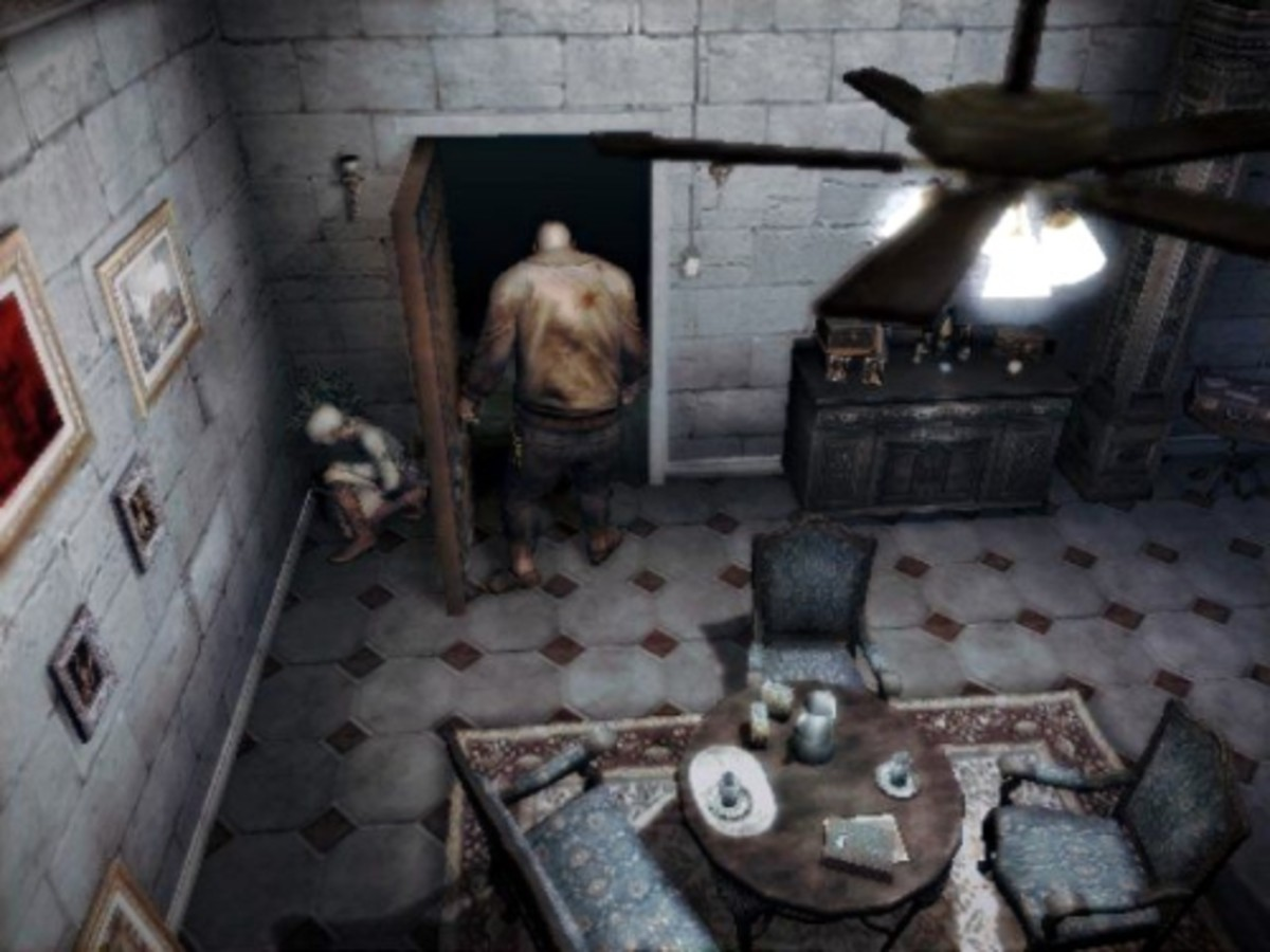 Haunting Ground places a heavy emphasis on avoiding combat and makes excellent use of a mechanic pioneered by Clock Tower.