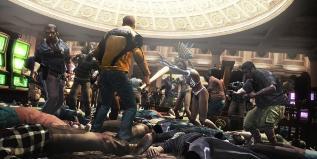 Dead Rising 2 makes no attempt to conceal the action at the heart of its horror.