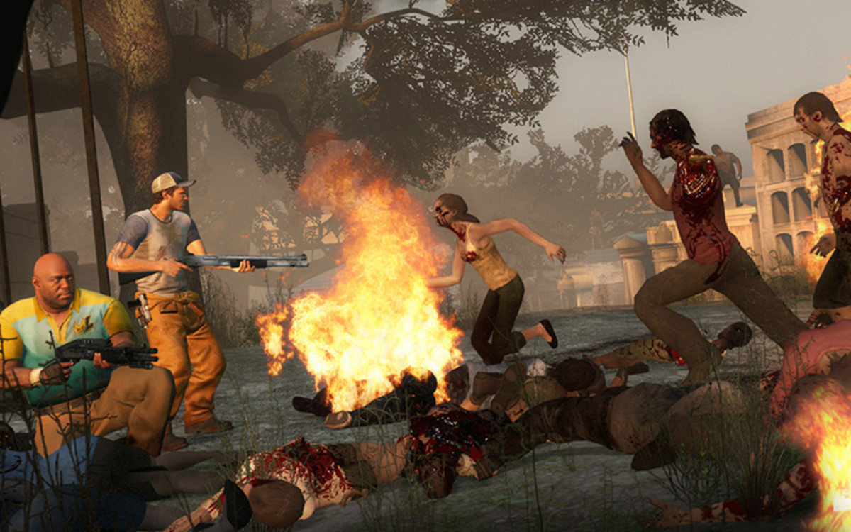 In spite of hefty doses of horror and a pressing need for survival, I wouldn't classify Left 4 Dead as a survival horror.