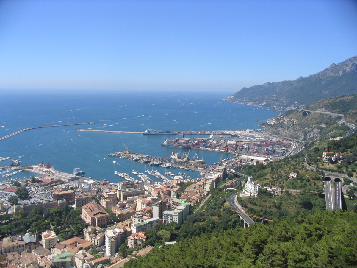 A modern-day image of Salerno, where Trotula worked and lived.