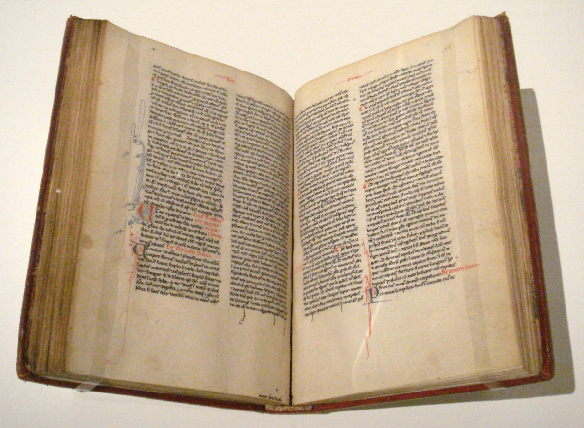 A 15th century copy of Trotula's book at the Musee de Cluny