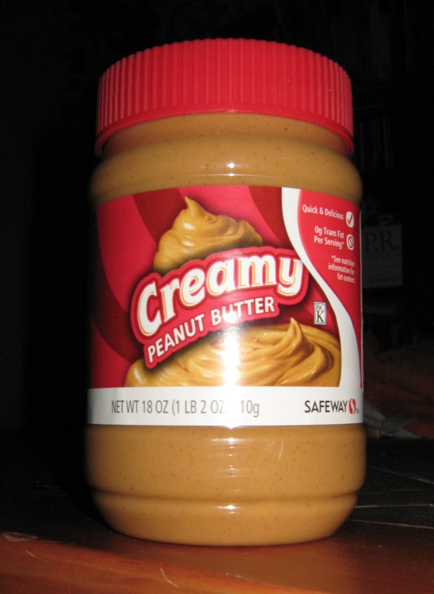 Peanut butter, the stuff of nightmares!