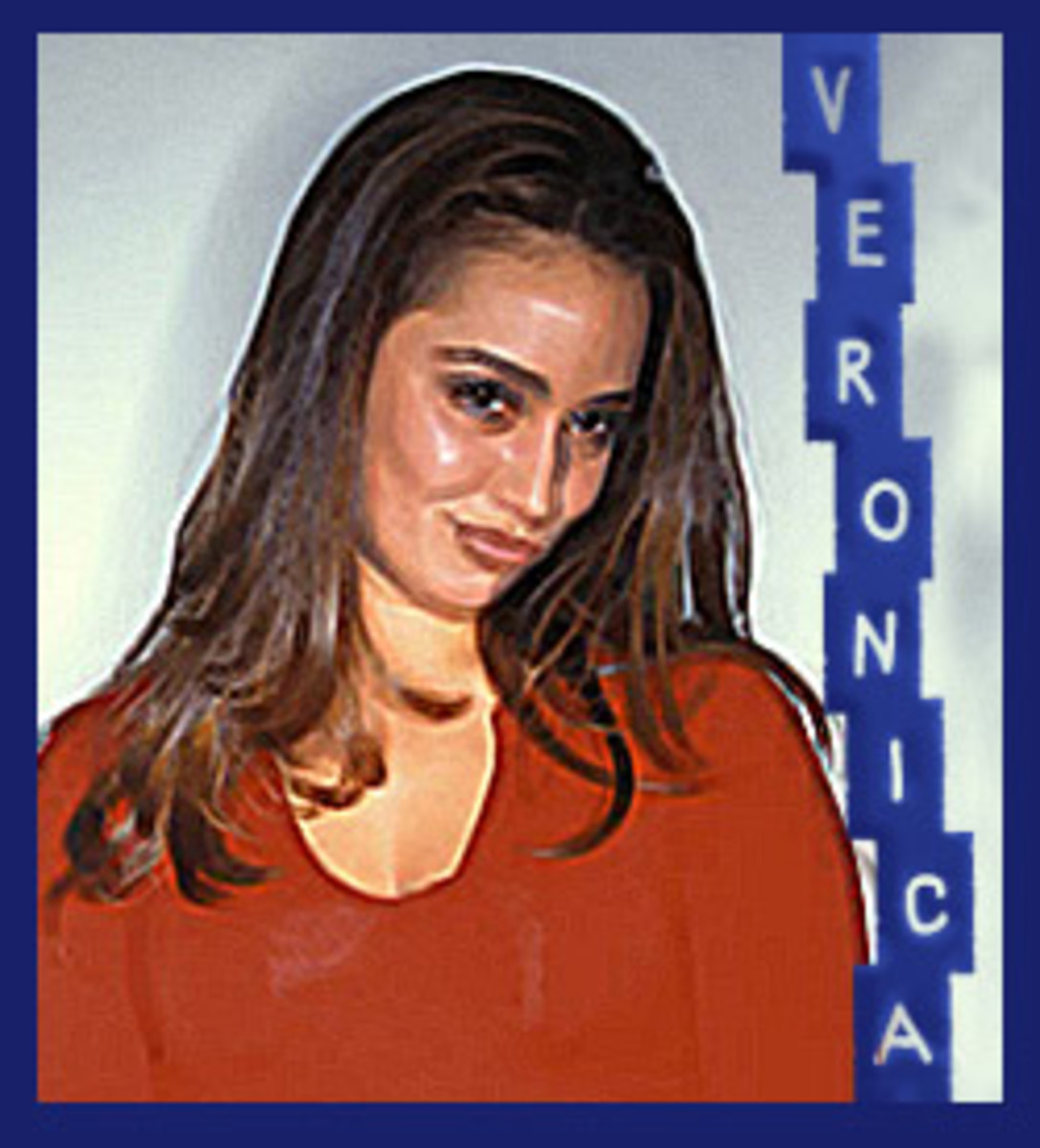 Young Veronica Portillo in the 1990s.