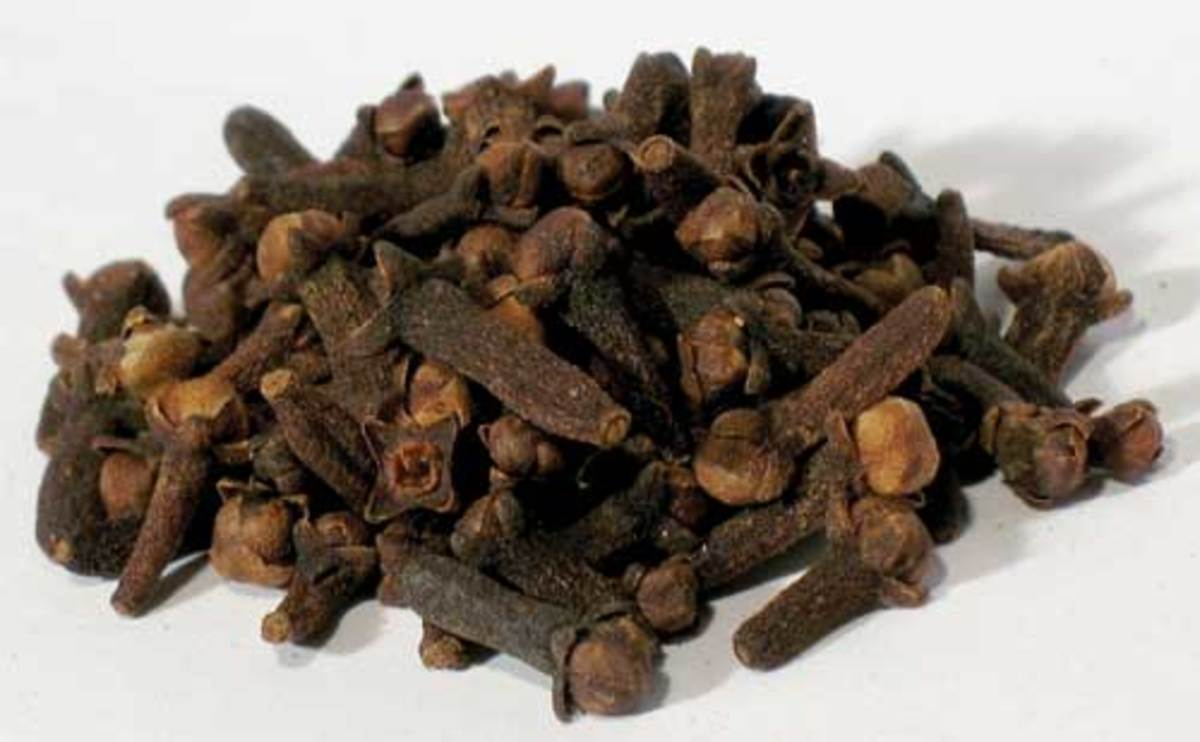 Dried Cloves In This Photo