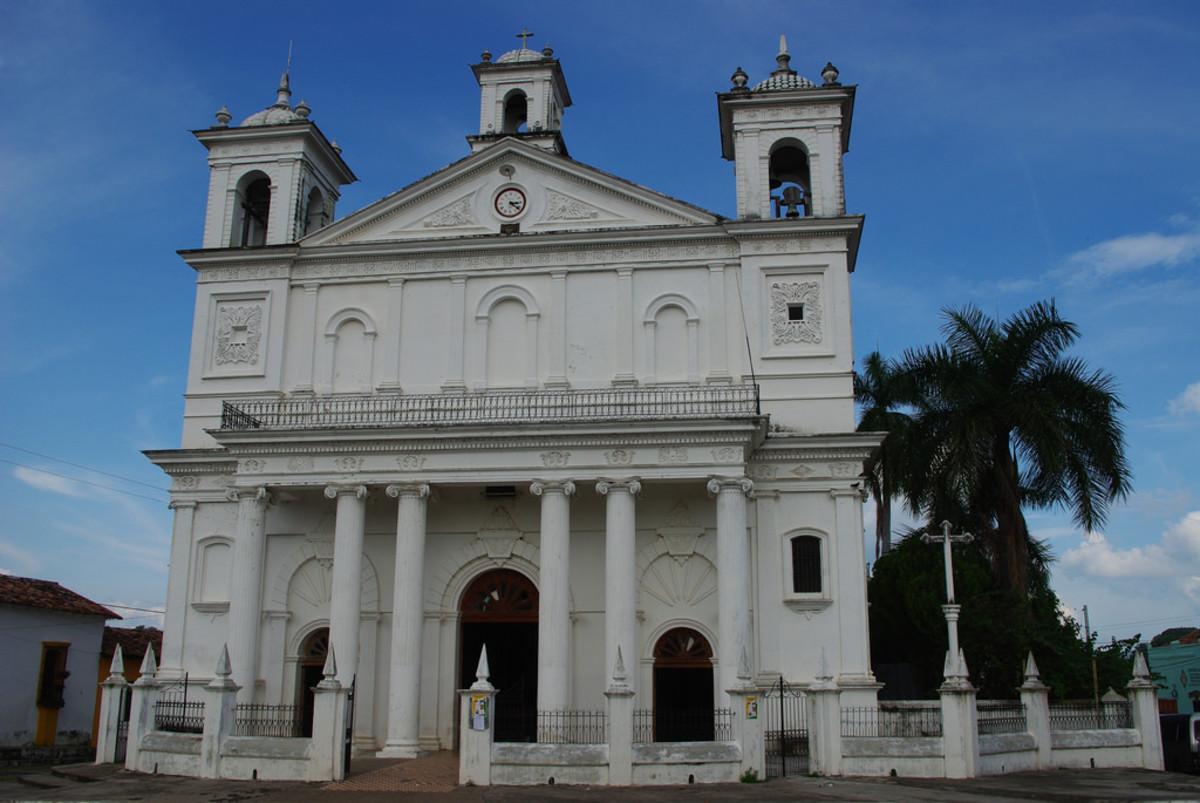 Church of Santa Lucia, Suchitoto