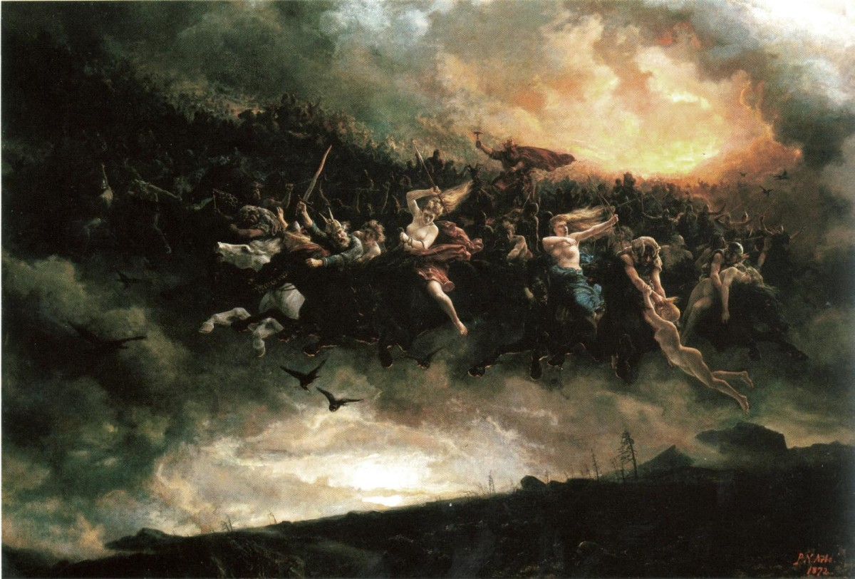 The Wild Hunt at Juletid (Yuletide), the turn of the year