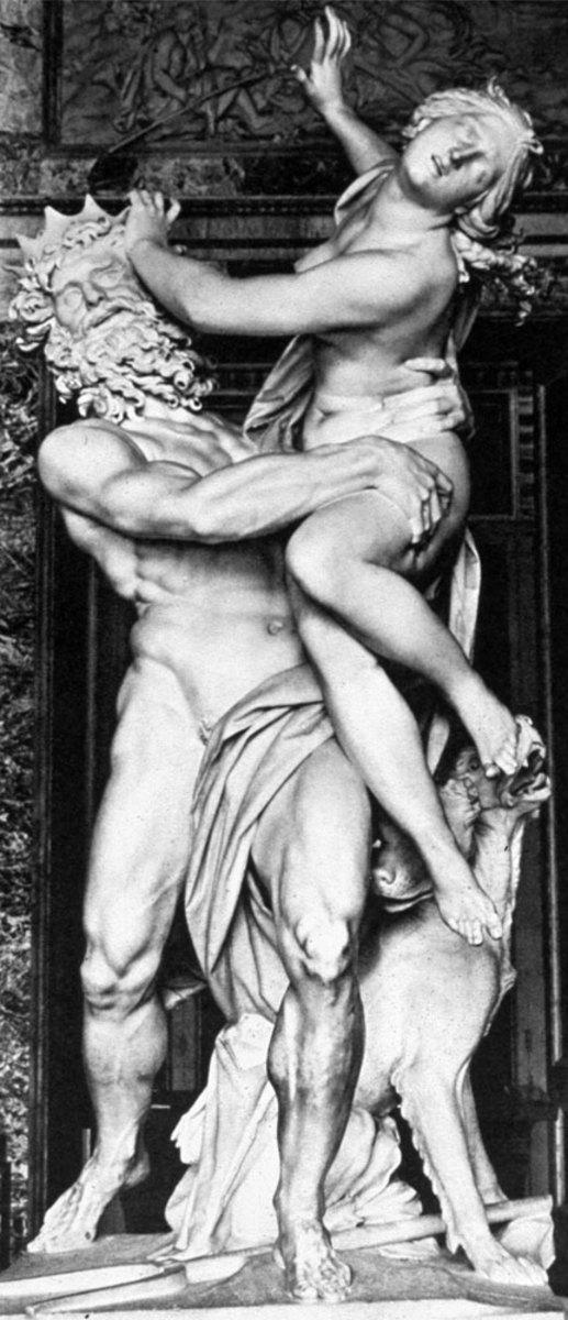 Rape of Proserpine (head on view)