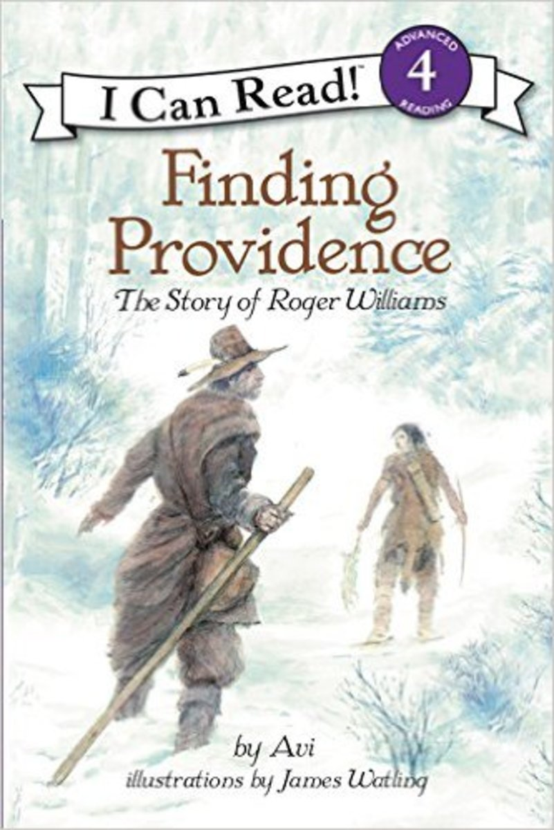 Finding Providence: The Story of Roger Williams (I Can Read Level 4) by Avi - Image is from amazon.com