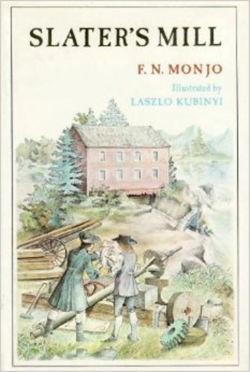 Slater's Mill by F. N Monjo (This image is from goodreads.com.)