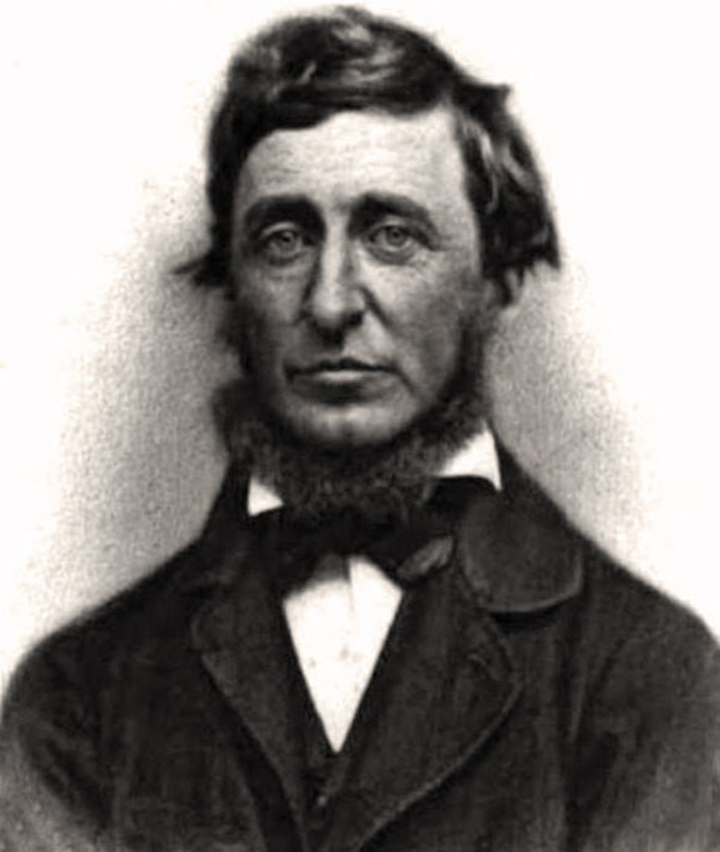 a comparison of moby dick by herman melville and walden by henry david thoreau Moby dick a matter of  literary works born into the american renaissance—such as henry david thoreau's walden, herman melville's moby  critical comparison.