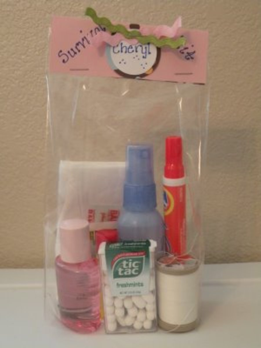 Unique and Fun Handmade Gift Idea- Craft Survival Kits