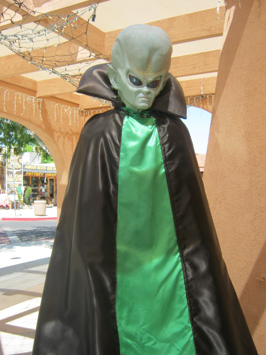 "It just would not be a tourist town in Nevada without at least ONE ""Alien"" tourist shop!"