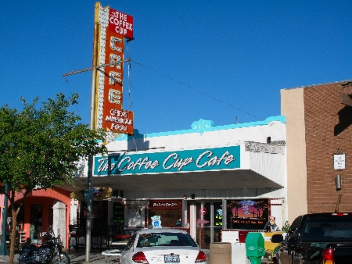 "The quaint little ""Coffee Cup Cafe"" featured on the hit TV show Diners, Drive Ins and Dives on the food channel, looks like a great place to pick up a cuppa Joe!"