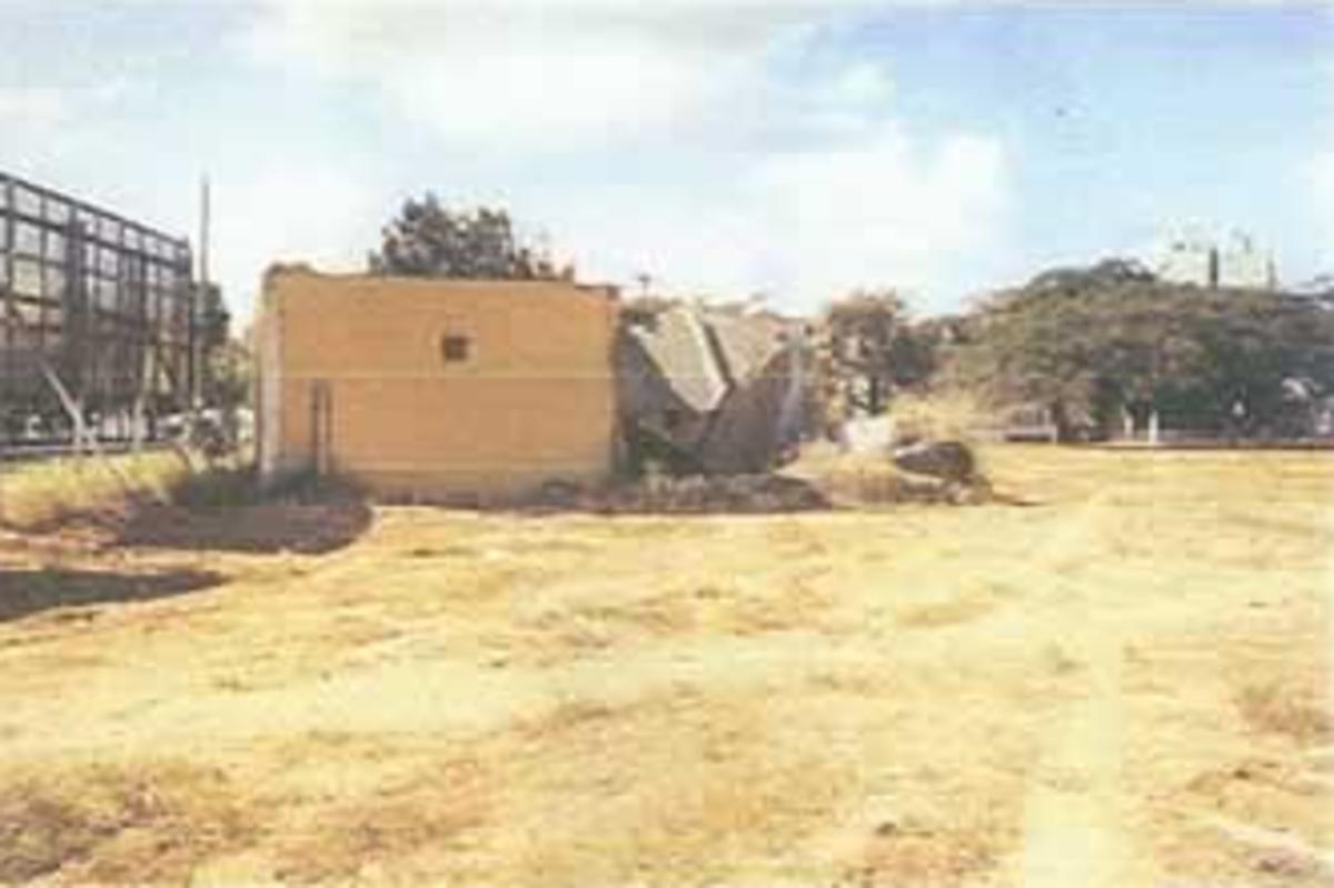 The abandoned IGR clinic.