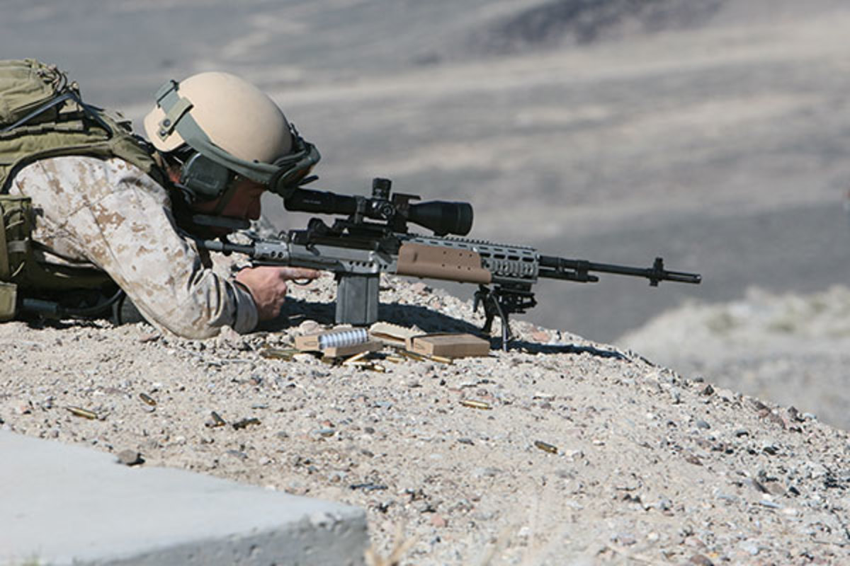 A marine's counter to the M110