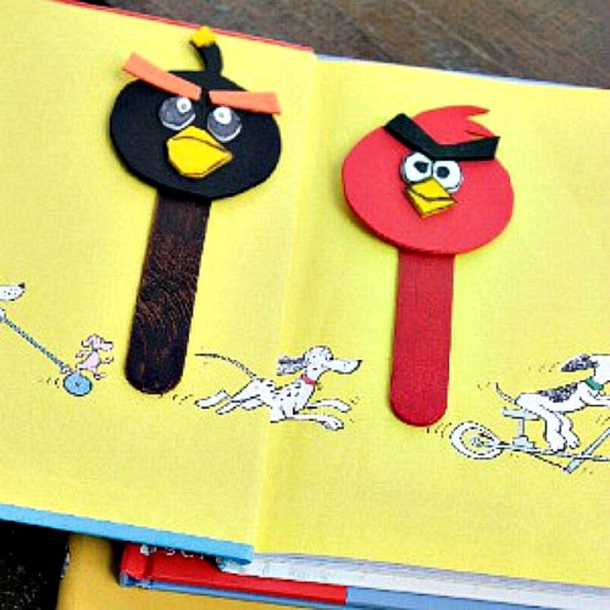 30 Cute and Easy Angry Birds Crafts