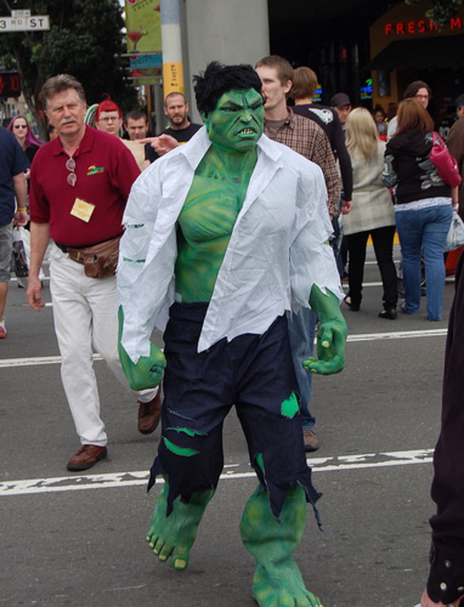 Hulk Costumes and Makeup