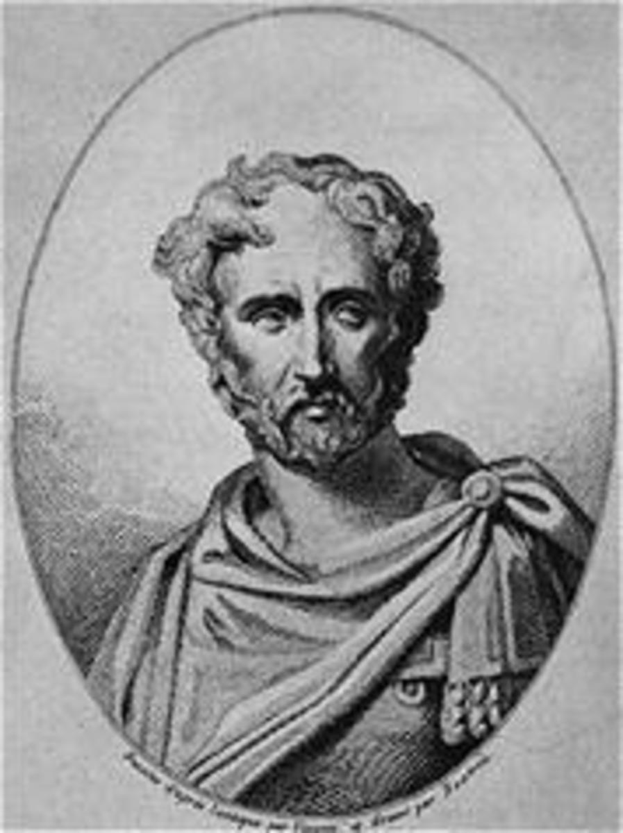 Pliny (Gaius Plinius Secundis) the Elder (23 – ­79 A.D.) Roman historian, scholar, and writer.