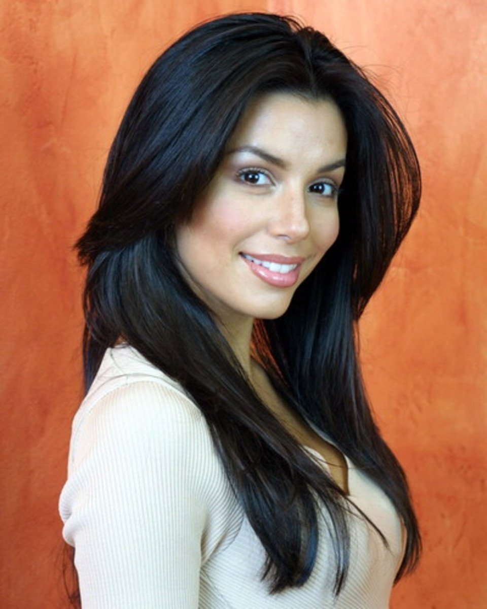 Eva Longoria Black Hair