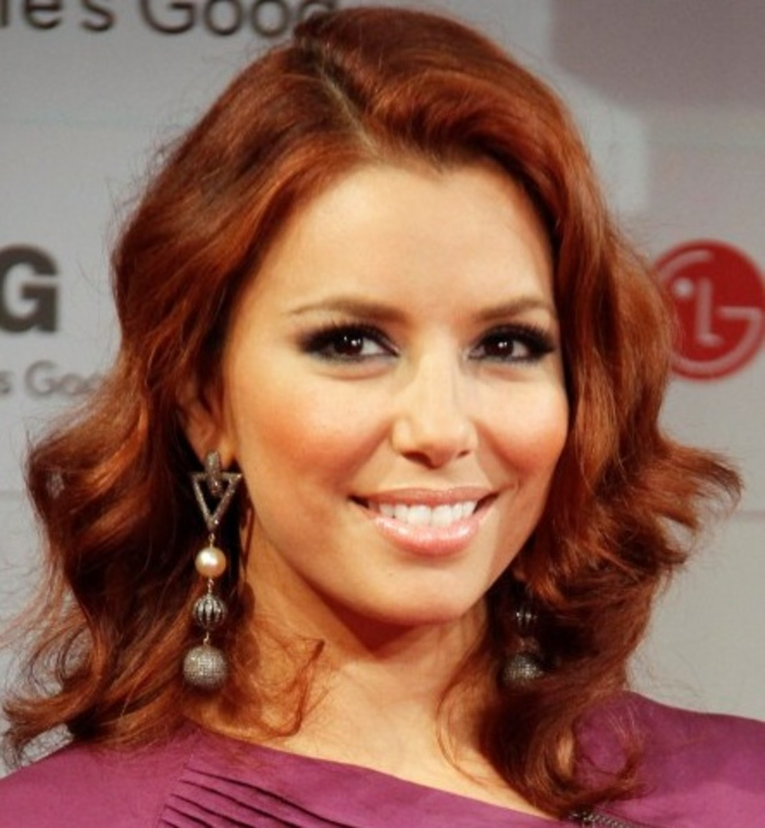 Eva Longoria with Red Hair