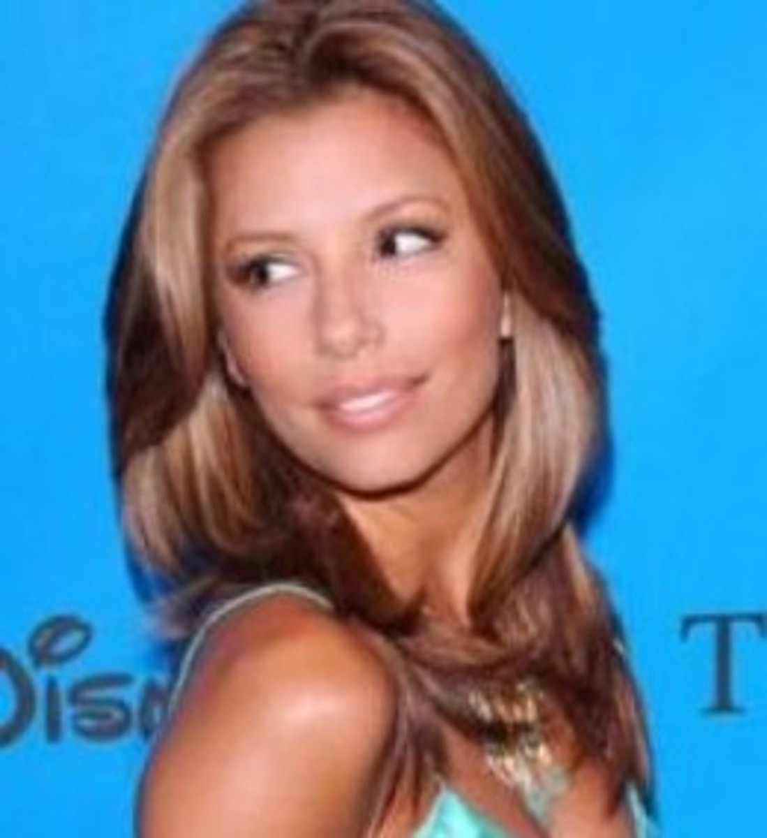 Eva Longoria with Medium Ash Blonde Hair