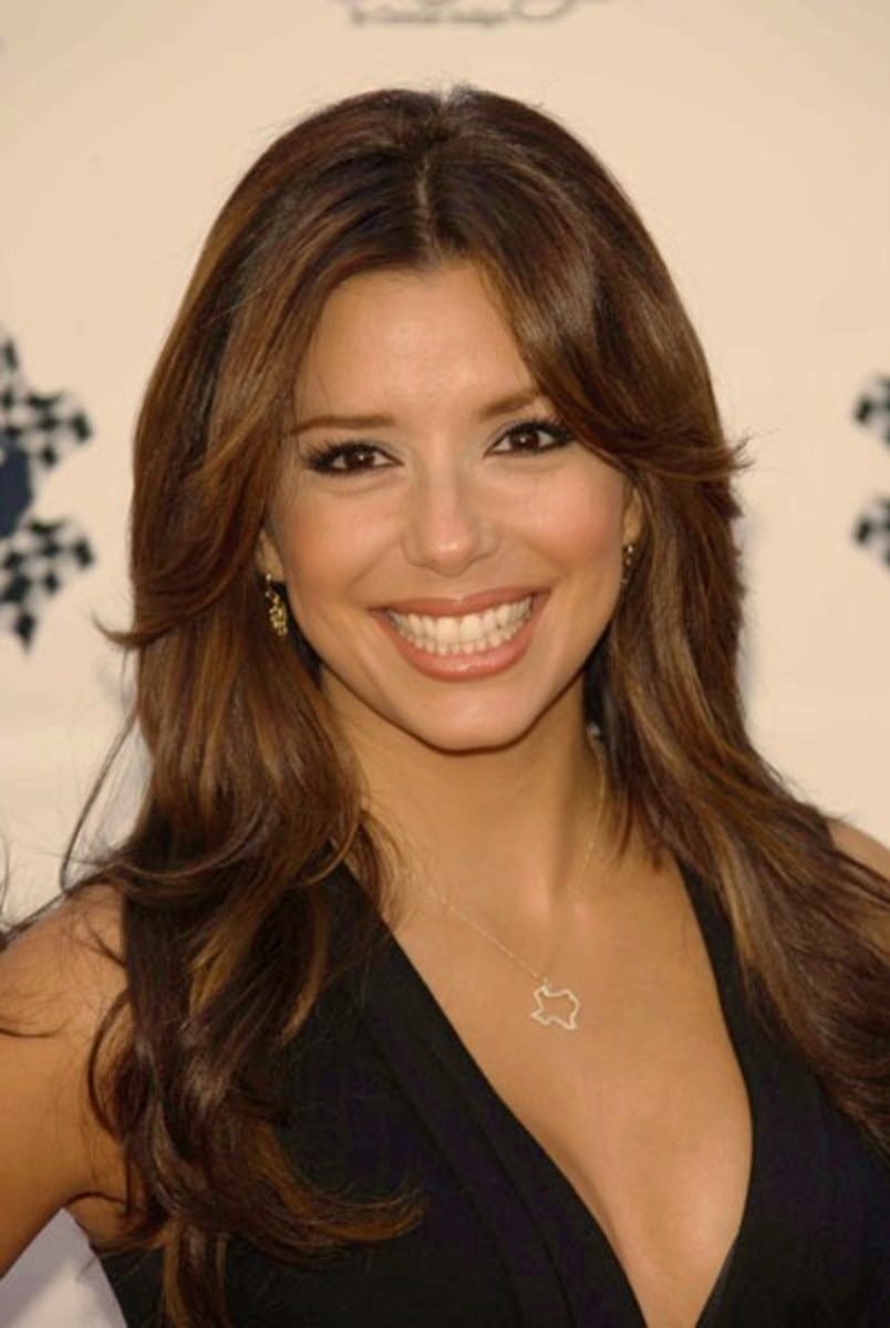 Eva Longoria Medium Brown Hair