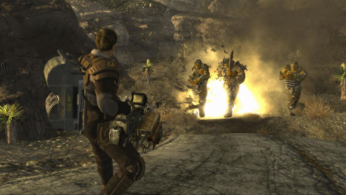 Fallout: New Vegas Gameplay