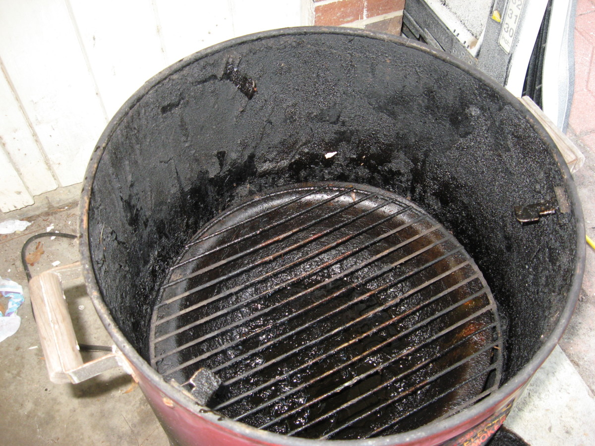 3. Replace the lower grill grate.