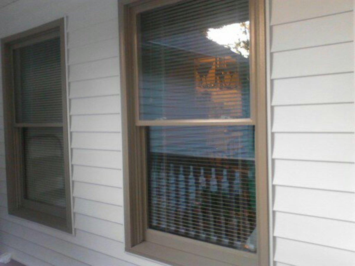 finished single windows