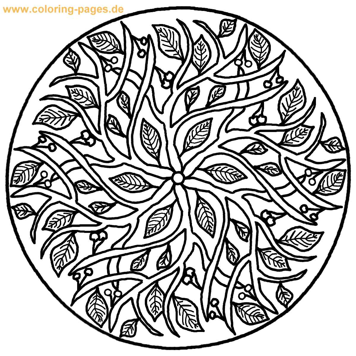 Center Yourself with Mandalas, Coloring Pages | HubPages