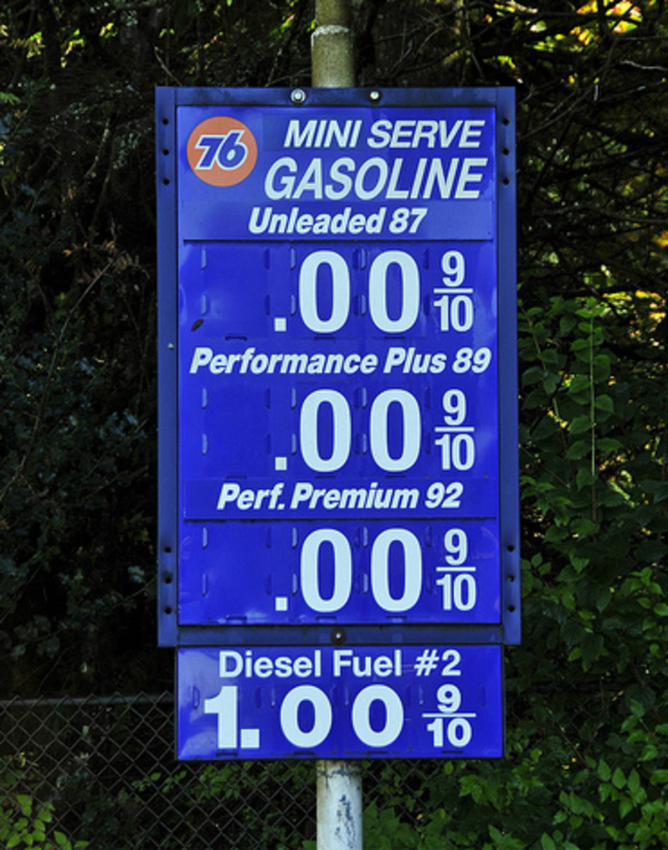Wouldn't it be awesome if the fuels are priced this way? Well, except for diesel of course.